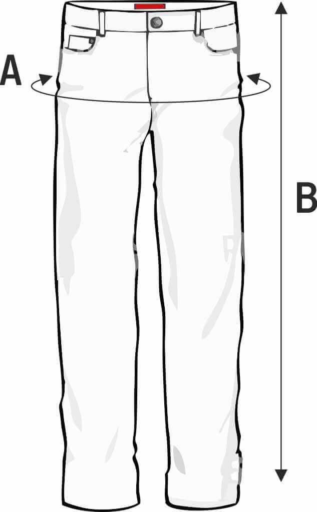 Ιατρικό παντελόνι φούξια Unisex Axon
